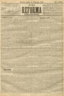 Nowa Reforma (numer popołudniowy). 1907, nr417