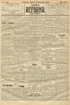 Nowa Reforma (numer poranny). 1907, nr422