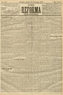 Nowa Reforma (numer popołudniowy). 1907, nr423