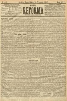Nowa Reforma (numer popołudniowy). 1907, nr425