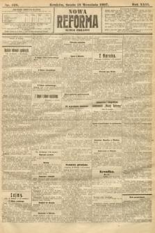 Nowa Reforma (numer poranny). 1907, nr428