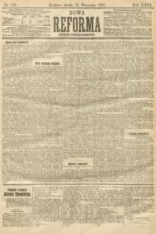 Nowa Reforma (numer popołudniowy). 1907, nr429
