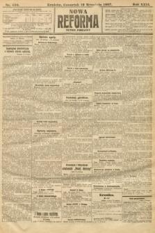 Nowa Reforma (numer poranny). 1907, nr430