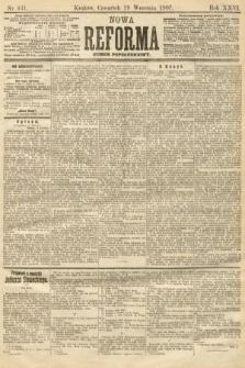 Nowa Reforma (numer popołudniowy). 1907, nr431