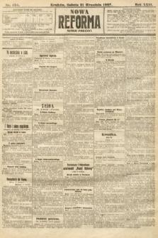 Nowa Reforma (numer poranny). 1907, nr434