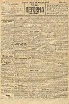 Nowa Reforma (numer poranny). 1907, nr438