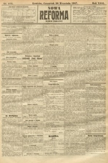 Nowa Reforma (numer poranny). 1907, nr442