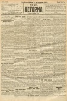 Nowa Reforma (numer poranny). 1907, nr444