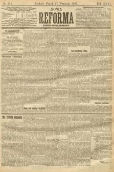 Nowa Reforma (numer popołudniowy). 1907, nr445