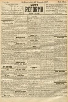 Nowa Reforma (numer poranny). 1907, nr446