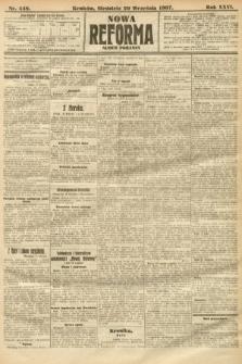 Nowa Reforma (numer poranny). 1907, nr448