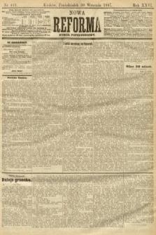 Nowa Reforma (numer popołudniowy). 1907, nr449