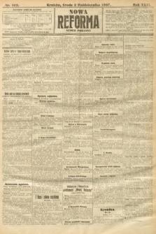 Nowa Reforma (numer poranny). 1907, nr452