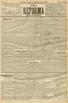 Nowa Reforma (numer popołudniowy). 1907, nr457