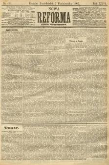 Nowa Reforma (numer popołudniowy). 1907, nr461