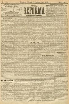 Nowa Reforma (numer popołudniowy). 1907, nr463