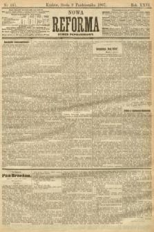 Nowa Reforma (numer popołudniowy). 1907, nr465