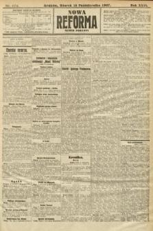 Nowa Reforma (numer poranny). 1907, nr474