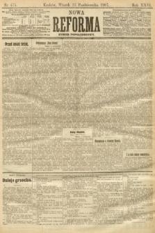 Nowa Reforma (numer popołudniowy). 1907, nr475