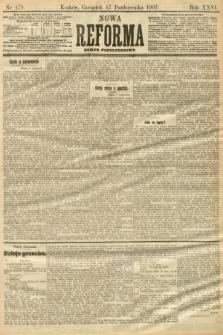 Nowa Reforma (numer popołudniowy). 1907, nr479