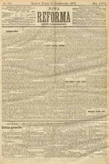 Nowa Reforma (numer popołudniowy). 1907, nr481
