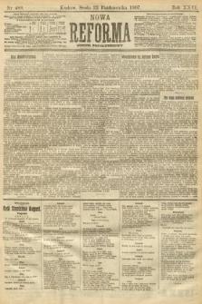 Nowa Reforma (numer popołudniowy). 1907, nr489