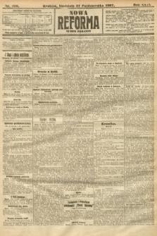 Nowa Reforma (numer poranny). 1907, nr496