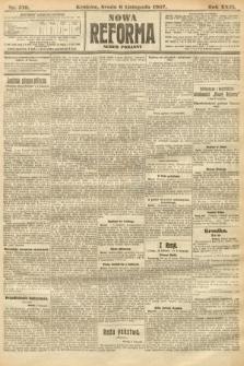 Nowa Reforma (numer poranny). 1907, nr510