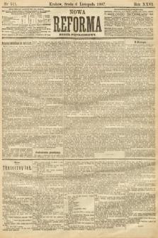 Nowa Reforma (numer popołudniowy). 1907, nr511
