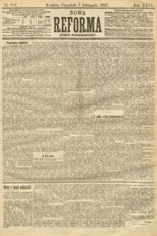 Nowa Reforma (numer popołudniowy). 1907, nr513