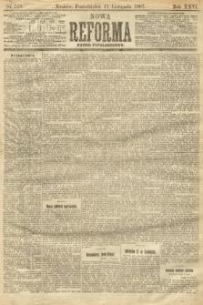 Nowa Reforma (numer popołudniowy). 1907, nr519