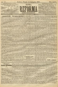 Nowa Reforma (numer popołudniowy). 1907, nr521