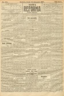 Nowa Reforma (numer poranny). 1907, nr522