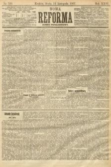 Nowa Reforma (numer popołudniowy). 1907, nr523