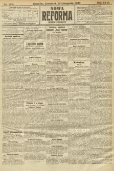 Nowa Reforma (numer poranny). 1907, nr524