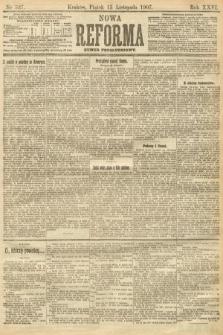 Nowa Reforma (numer popołudniowy). 1907, nr527