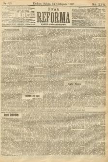 Nowa Reforma (numer popołudniowy). 1907, nr529