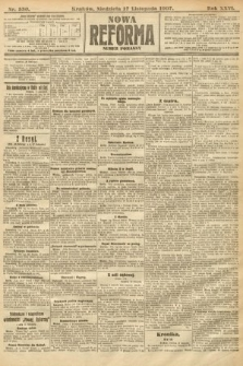Nowa Reforma (numer poranny). 1907, nr530