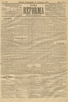 Nowa Reforma (numer popołudniowy). 1907, nr531