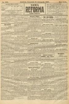 Nowa Reforma (numer poranny). 1907, nr536