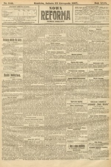 Nowa Reforma (numer poranny). 1907, nr540