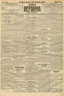 Nowa Reforma (numer poranny). 1907, nr544