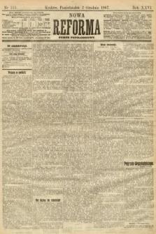 Nowa Reforma (numer popołudniowy). 1907, nr555