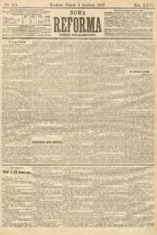 Nowa Reforma (numer popołudniowy). 1907, nr563