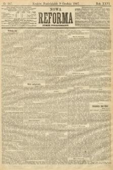 Nowa Reforma (numer popołudniowy). 1907, nr567