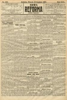 Nowa Reforma (numer poranny). 1907, nr568