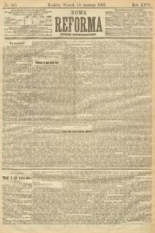 Nowa Reforma (numer popołudniowy). 1907, nr569