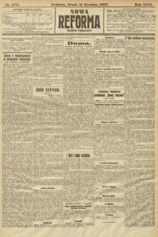 Nowa Reforma (numer poranny). 1907, nr570