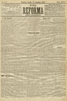 Nowa Reforma (numer popołudniowy). 1907, nr571