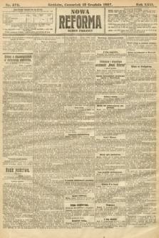 Nowa Reforma (numer poranny). 1907, nr572